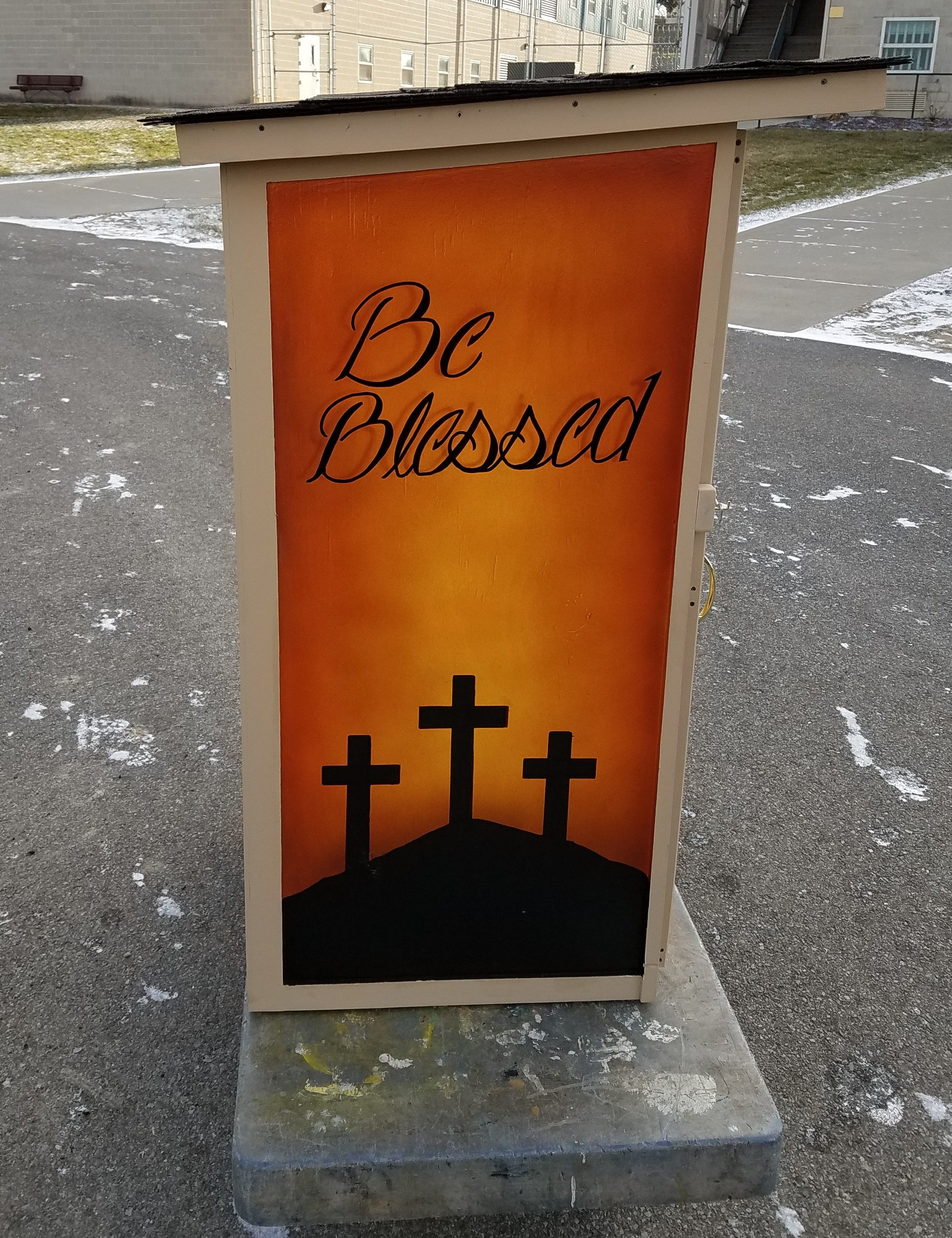 "Offenders at RiCI Design, Construct, and Paint ""Blessing Boxes"" for the Ashland Community"