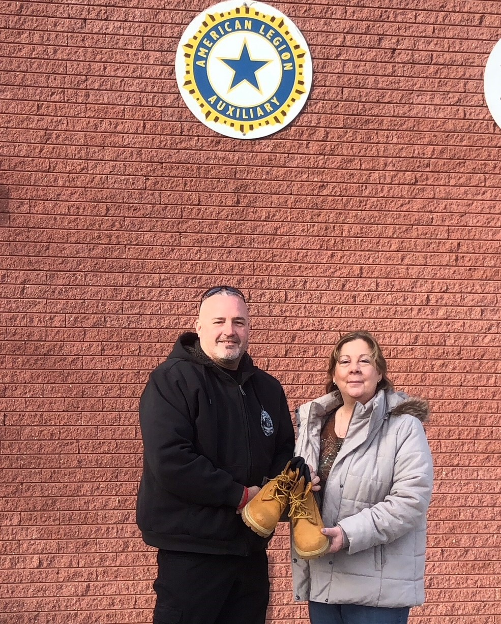 Slightly Worn Boots find their way to Homeless Veterans
