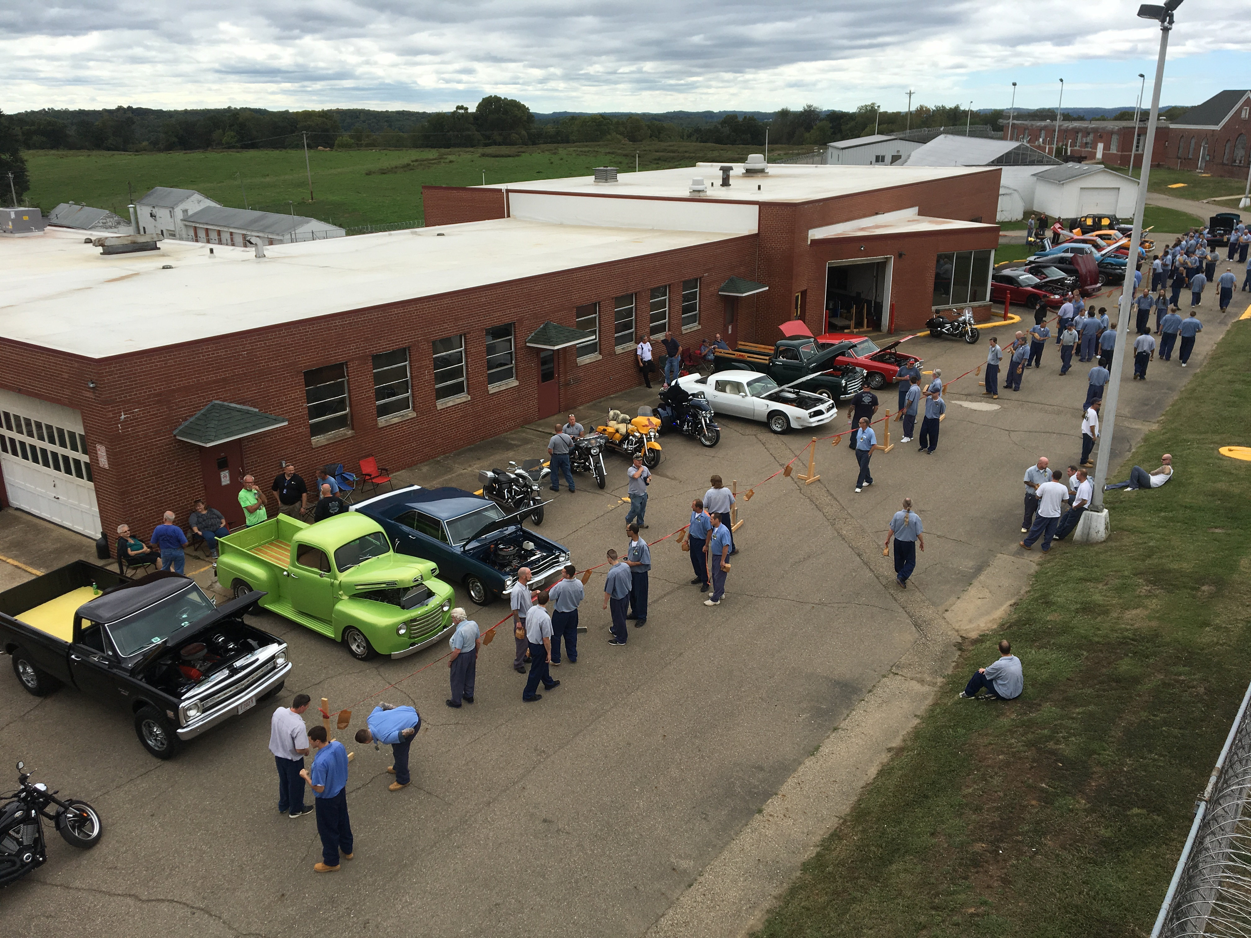 Annual Car Show at Southeastern Correctional Complex