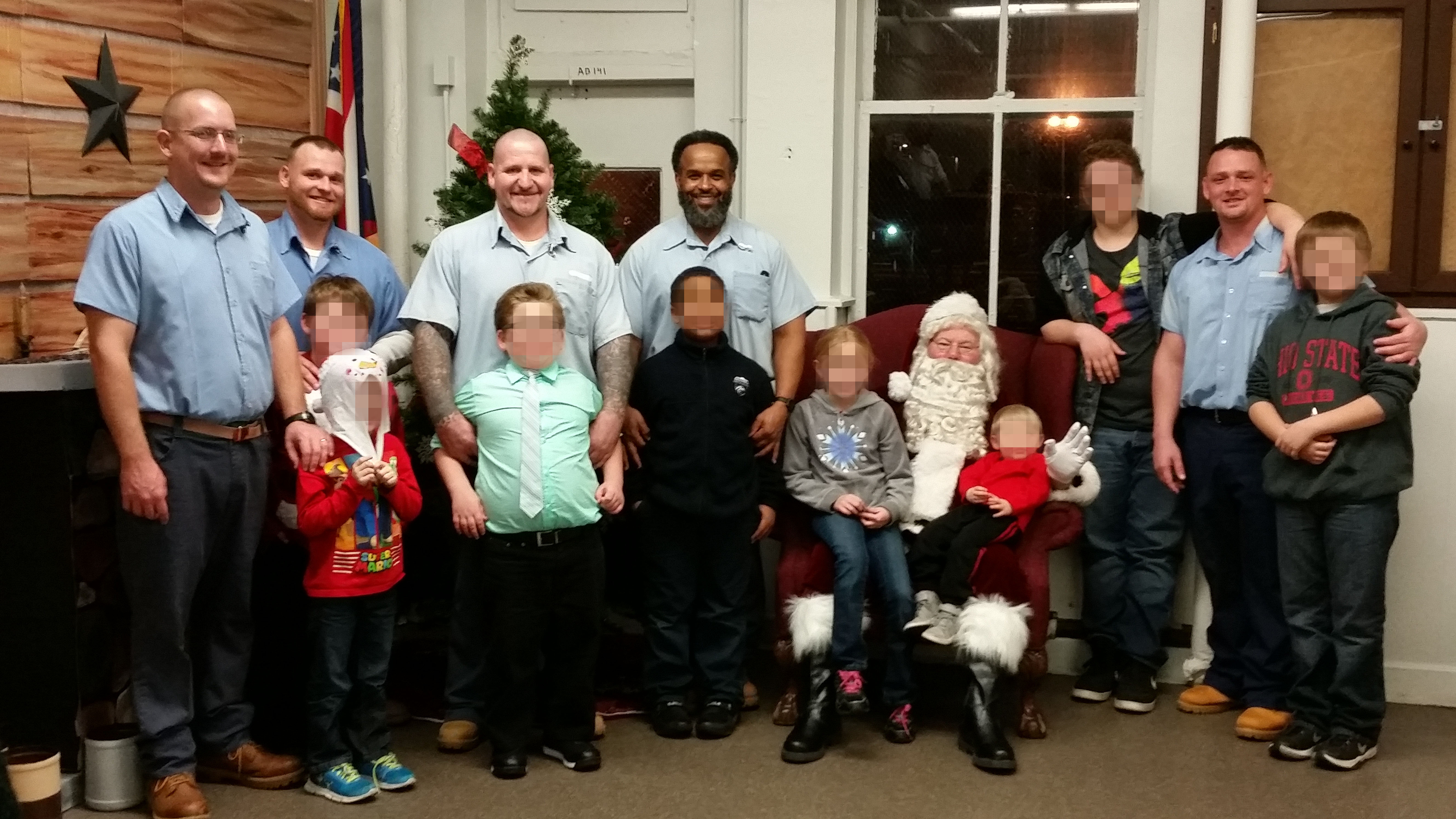 Cub Scouts Christmas at CCI