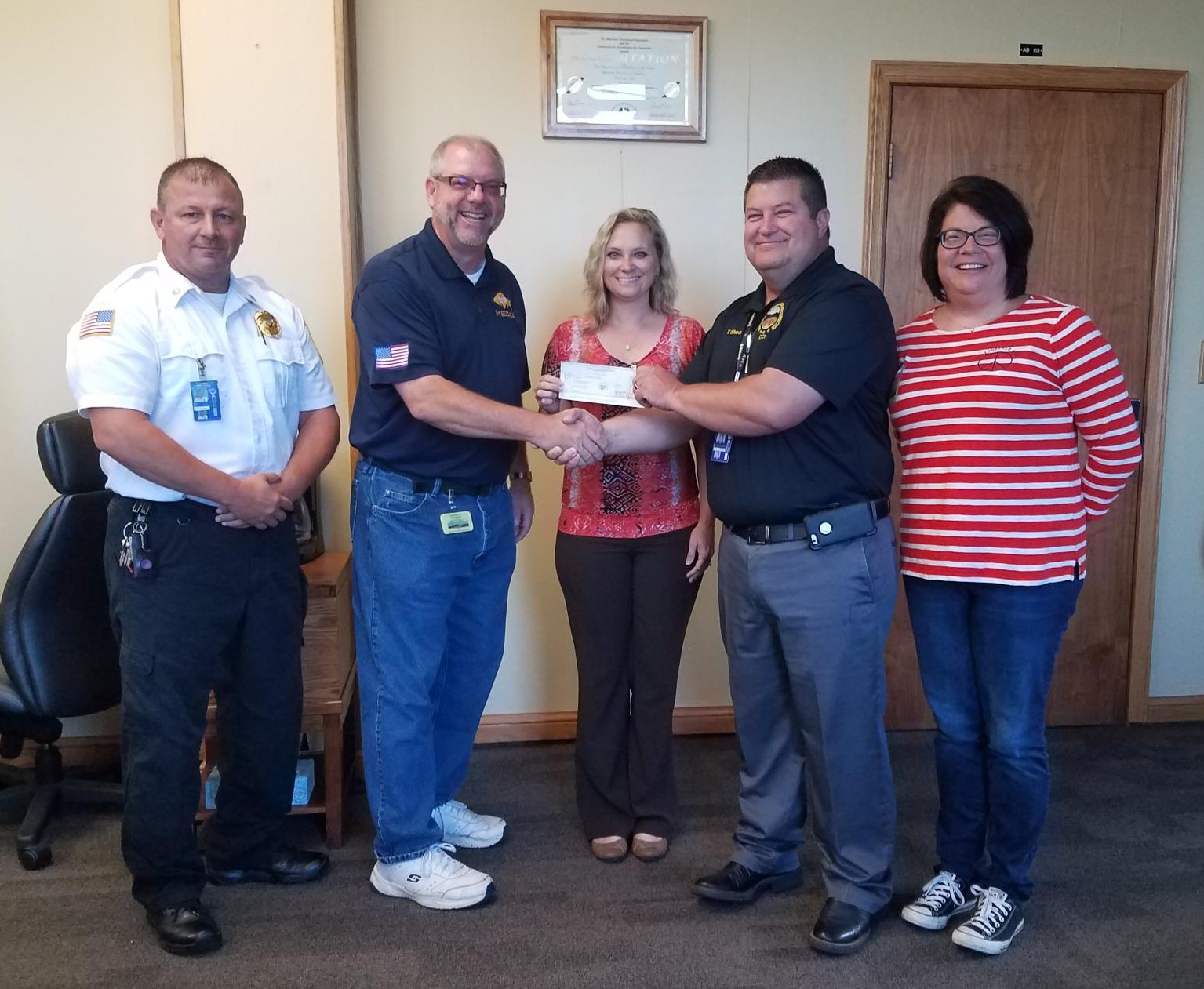 CCI Donates to the Southern Ohio Survivors