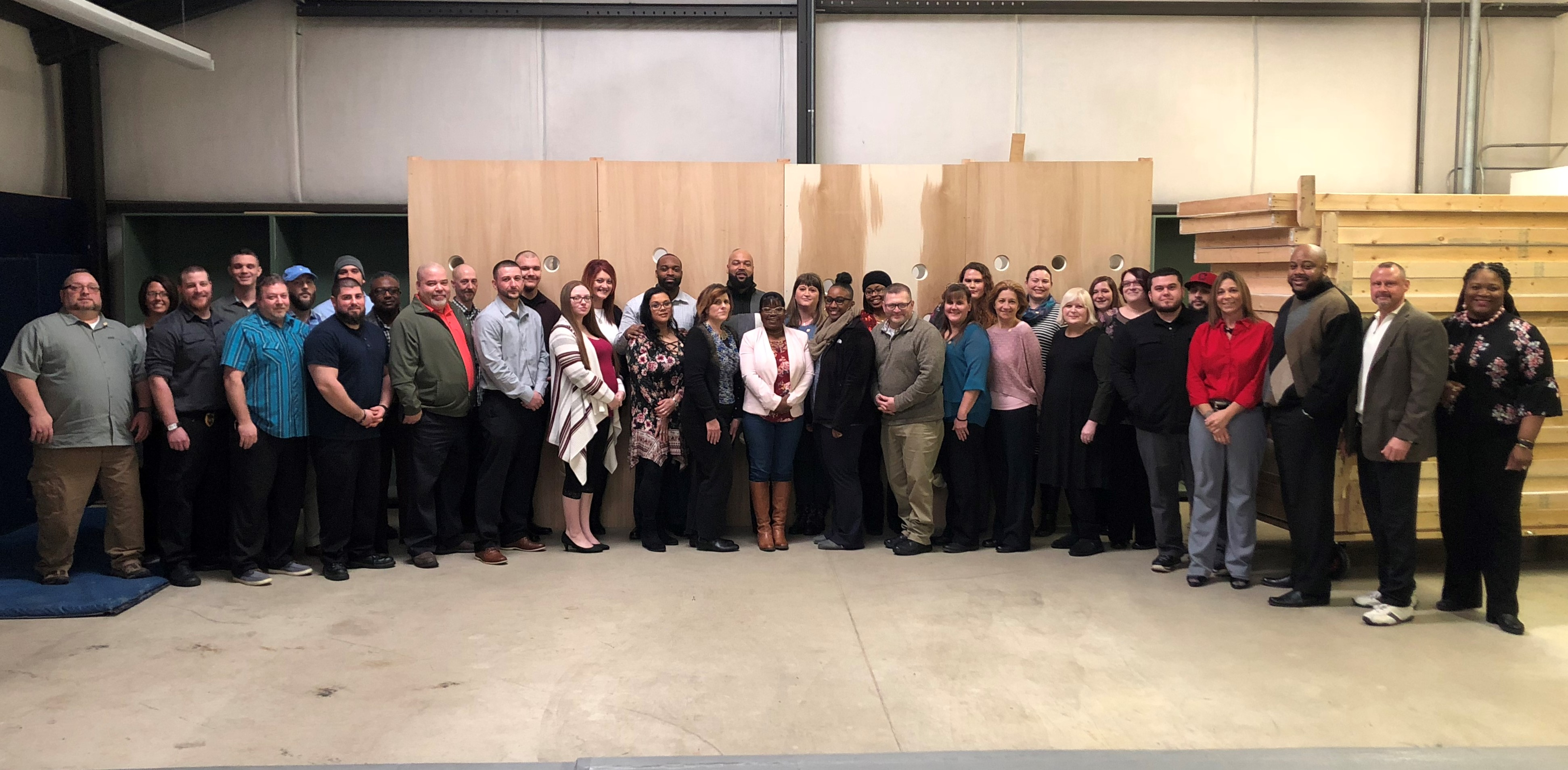 GCI, NERC and LorCI Employees Completes Critical Incident Team Training