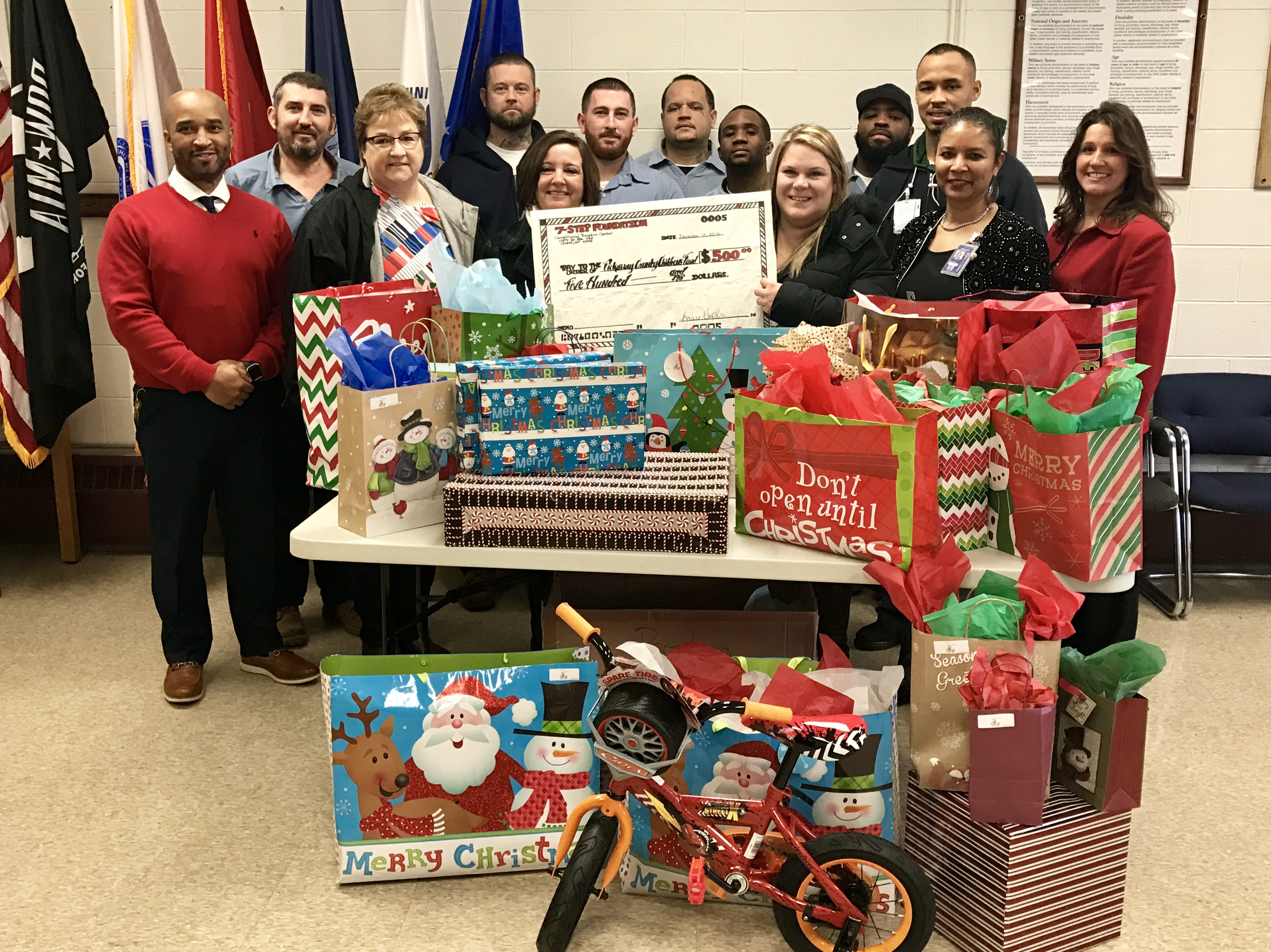 CRC Holiday Gift Donation