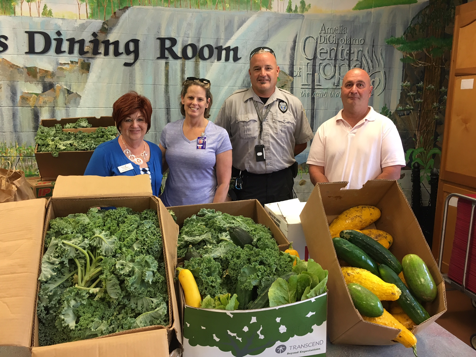 TCI's Hard Work with Aquaponics Produces 228lbs of Fresh Vegetables