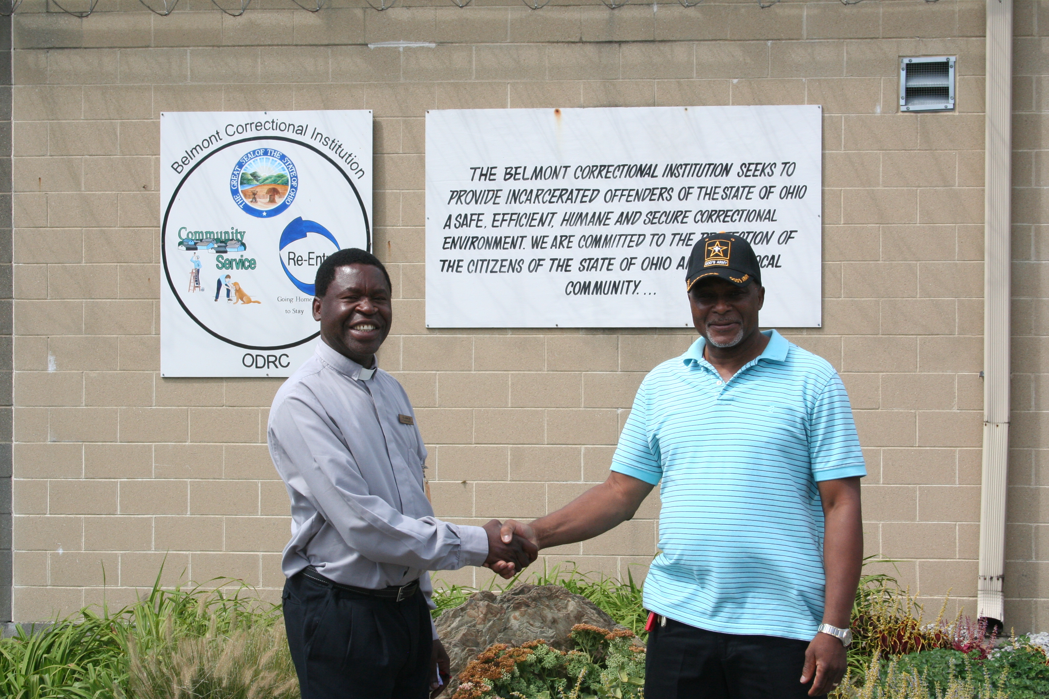 South African Chaplain Visits Belmont Correctional Institution (BeCI)