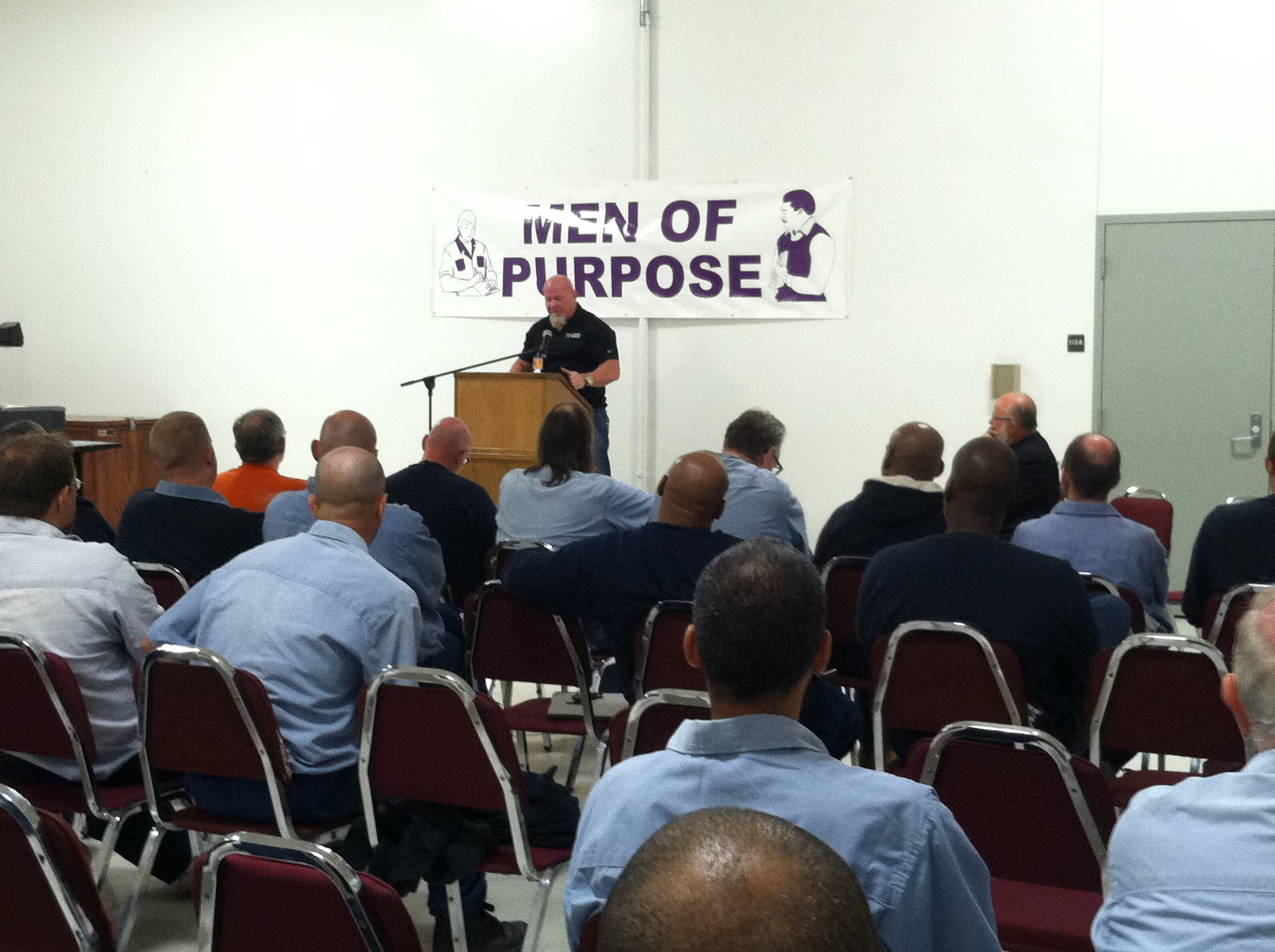 Olympian Speaks at Belmont Correctional Institution