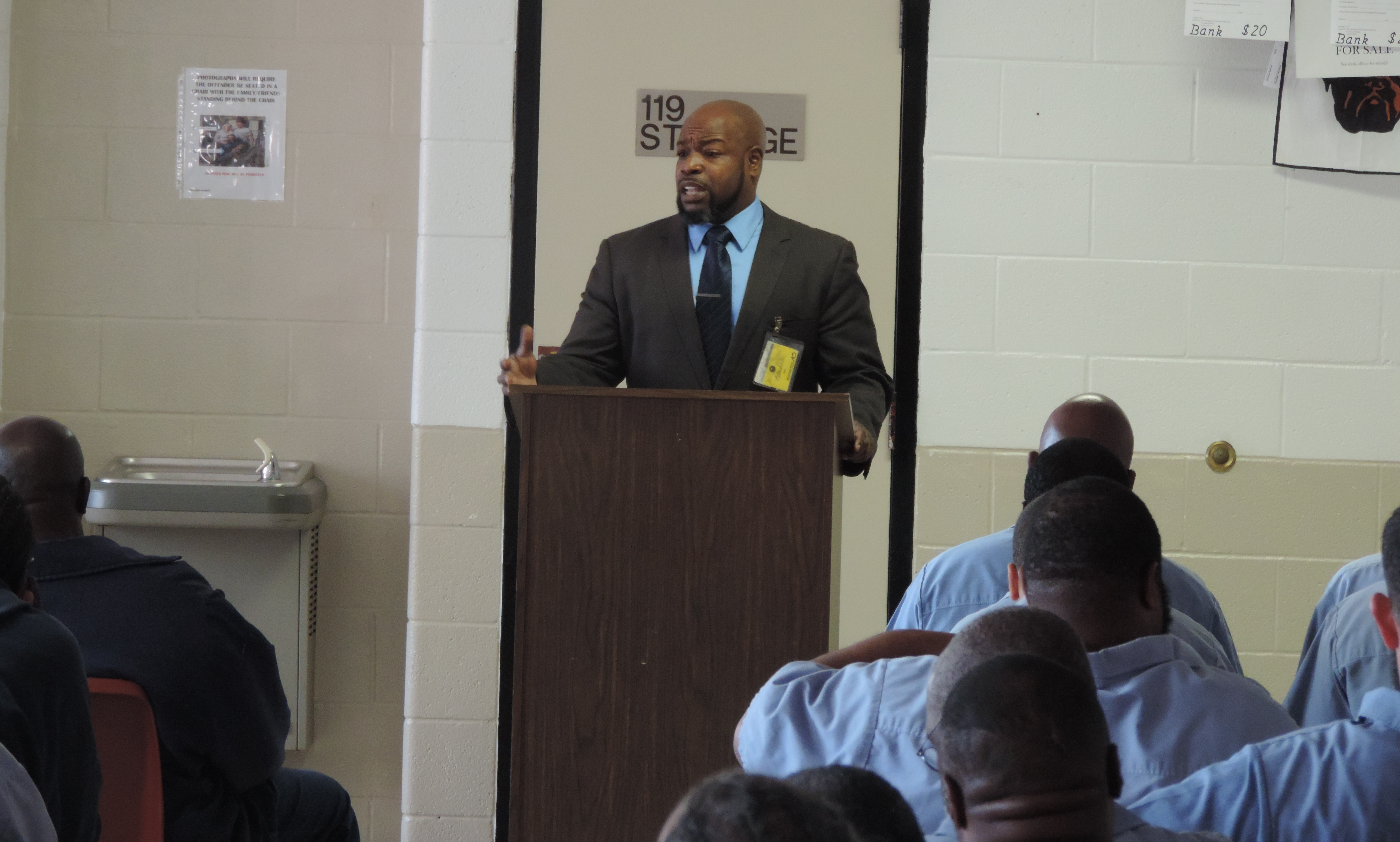 Floyd Mayberry Visits Lorain Correctional Institution