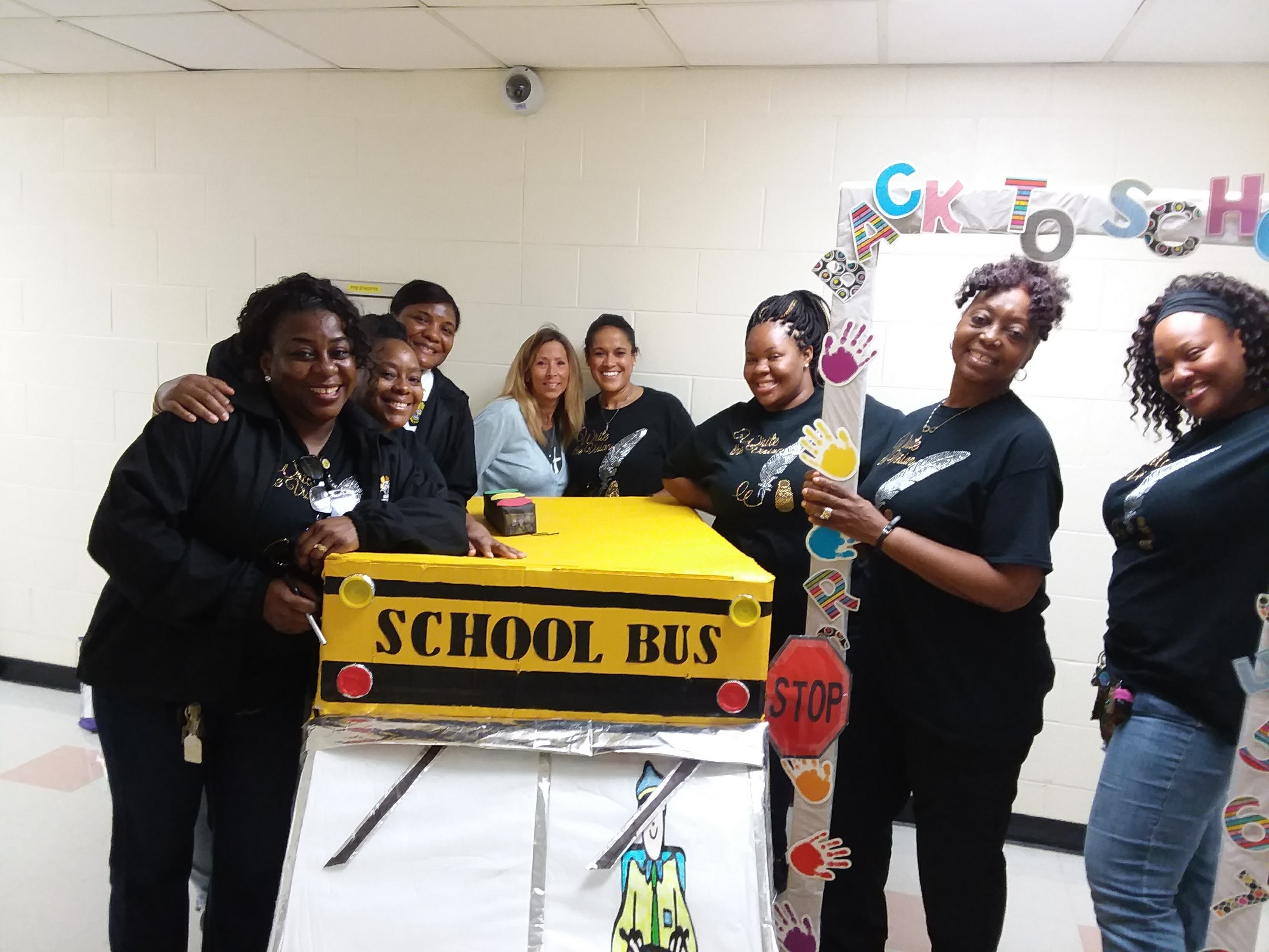 FMC's Women in Corrections Sponsored Back to School Event