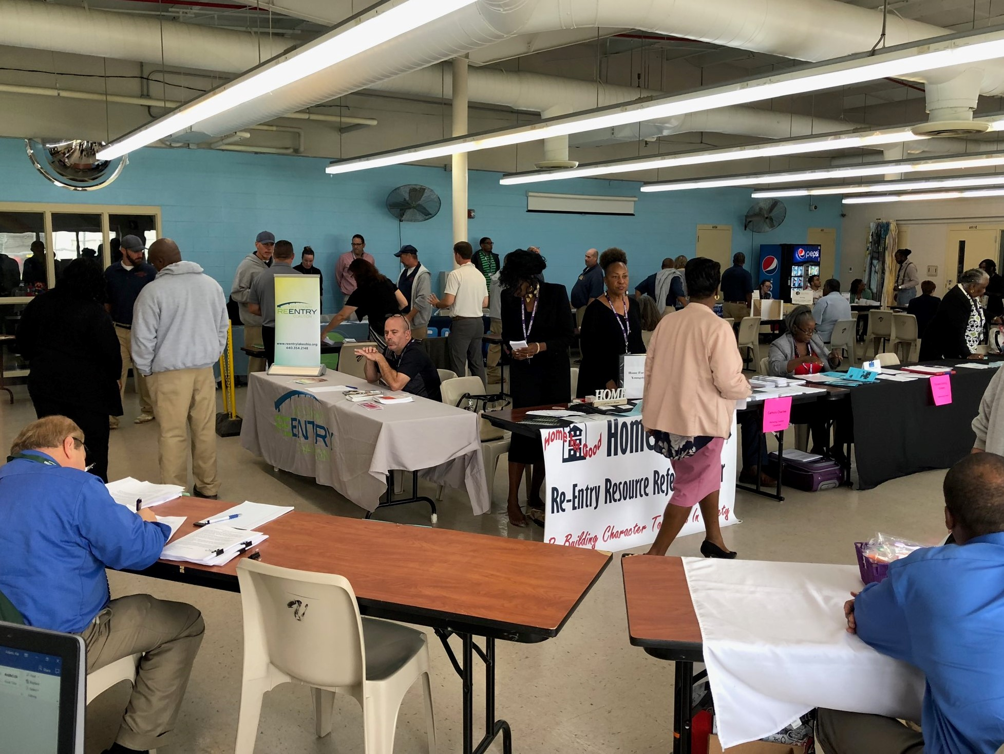 Bi-Annual Reentry Fair at GCI and GRC