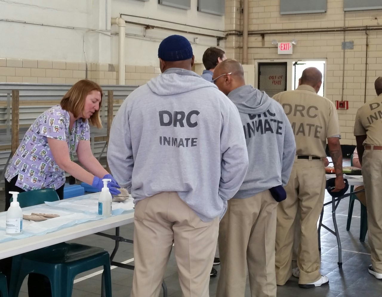 Marion Correctional Institution Annual Offender Health Fair