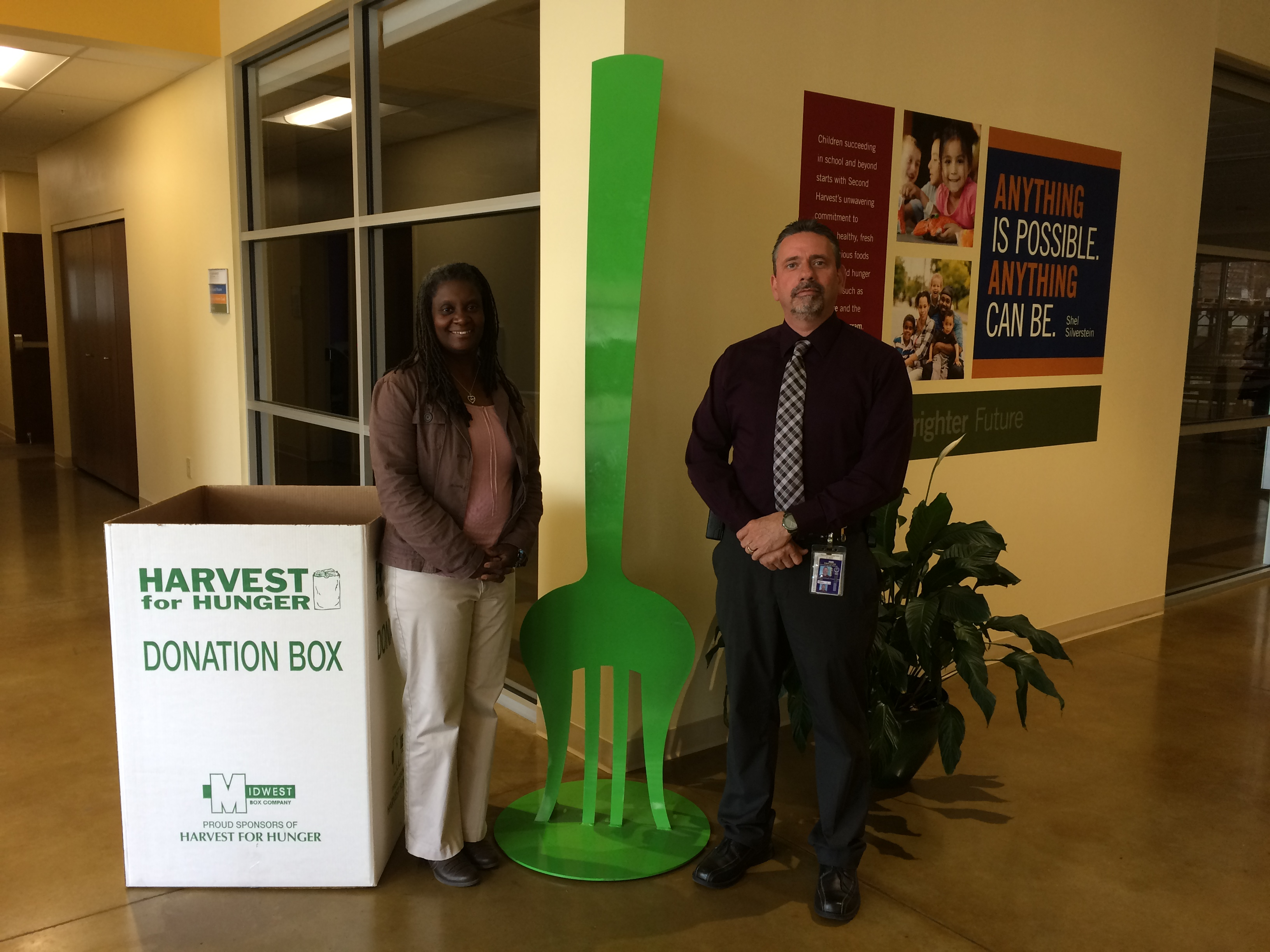 LorCI Donates to Harvest for Hunger