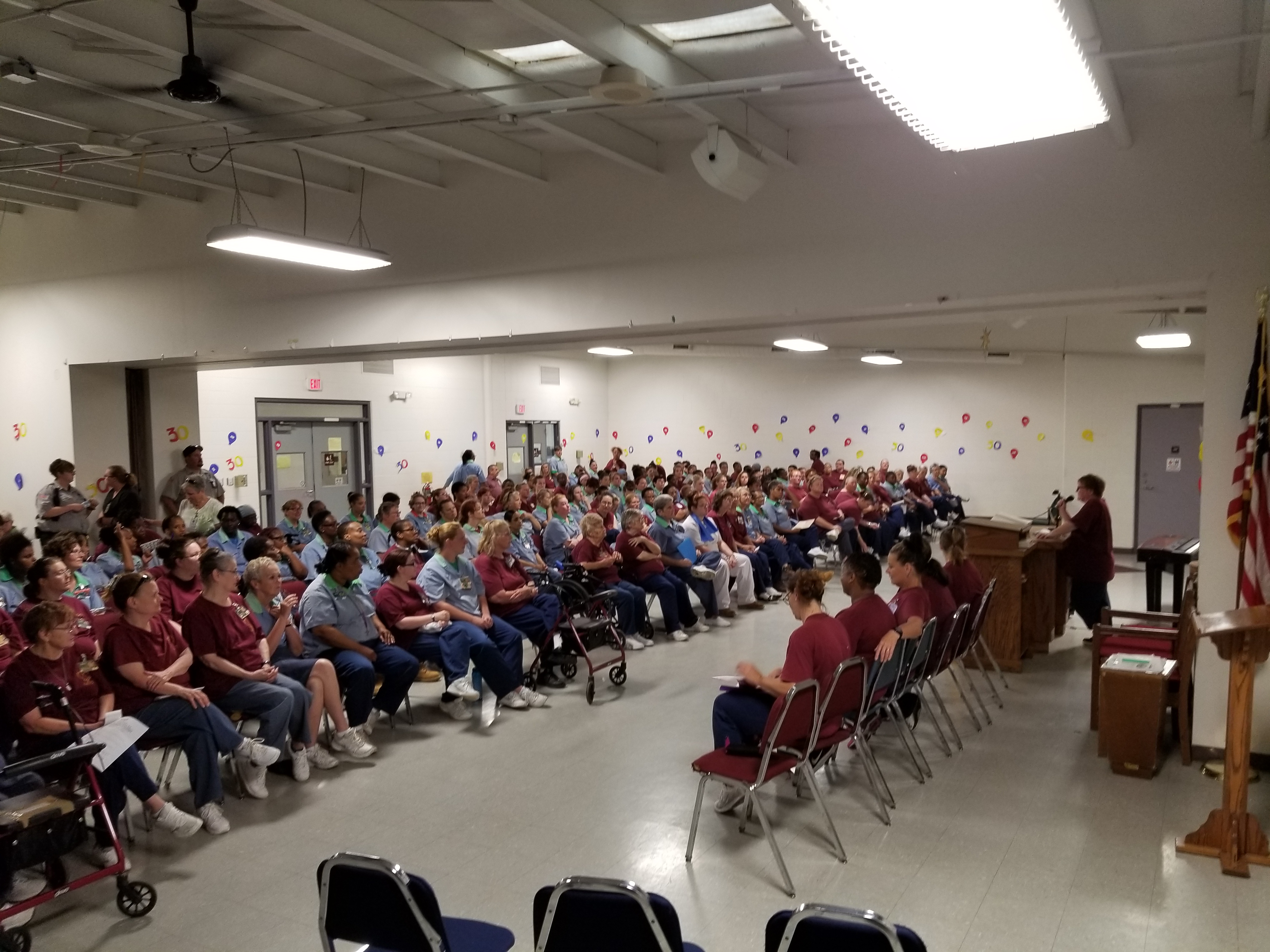 Inmate LIFE Group celebrates 30yrs at ORW