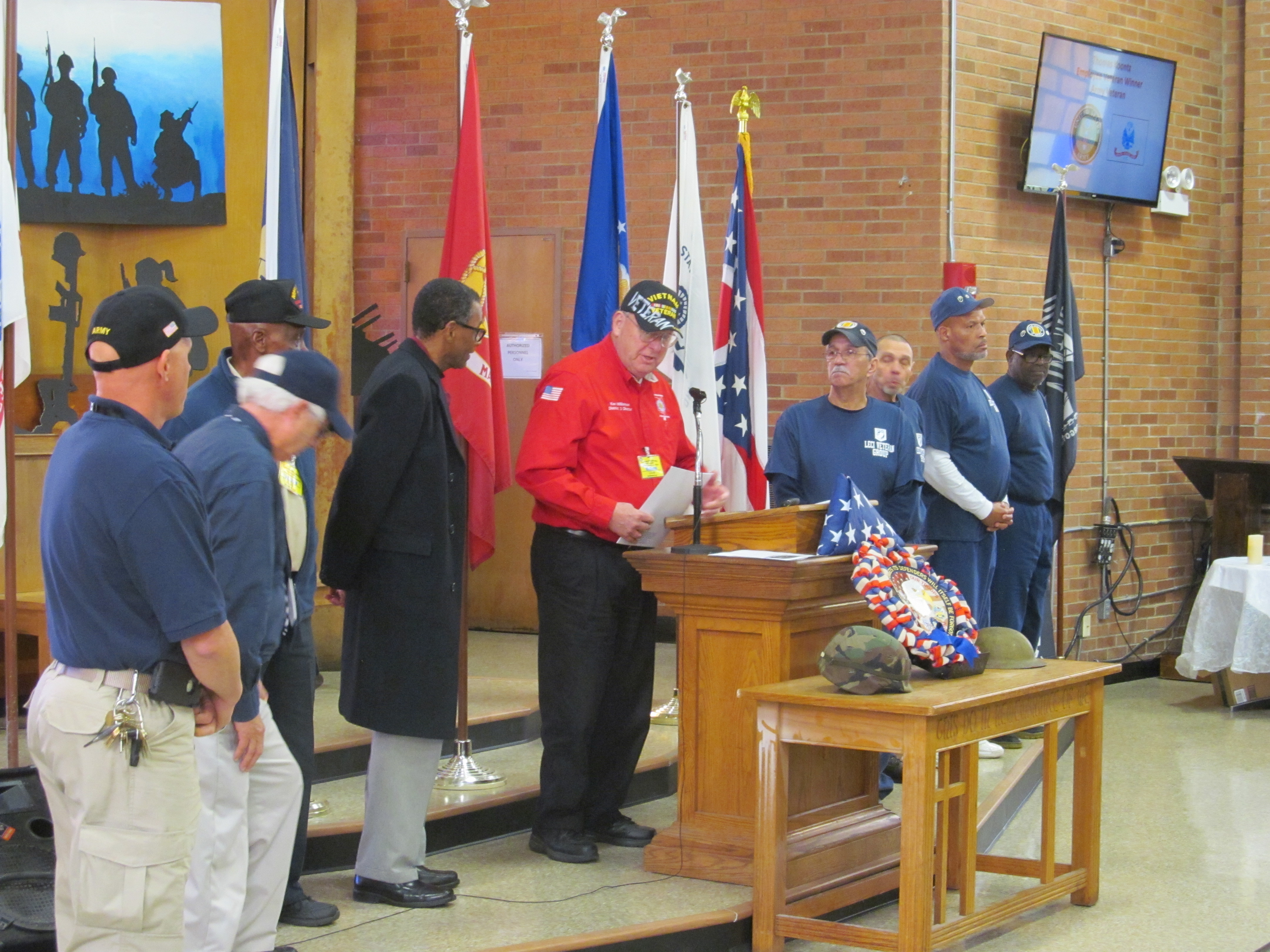 LeCI's Veterans Day Ceremony