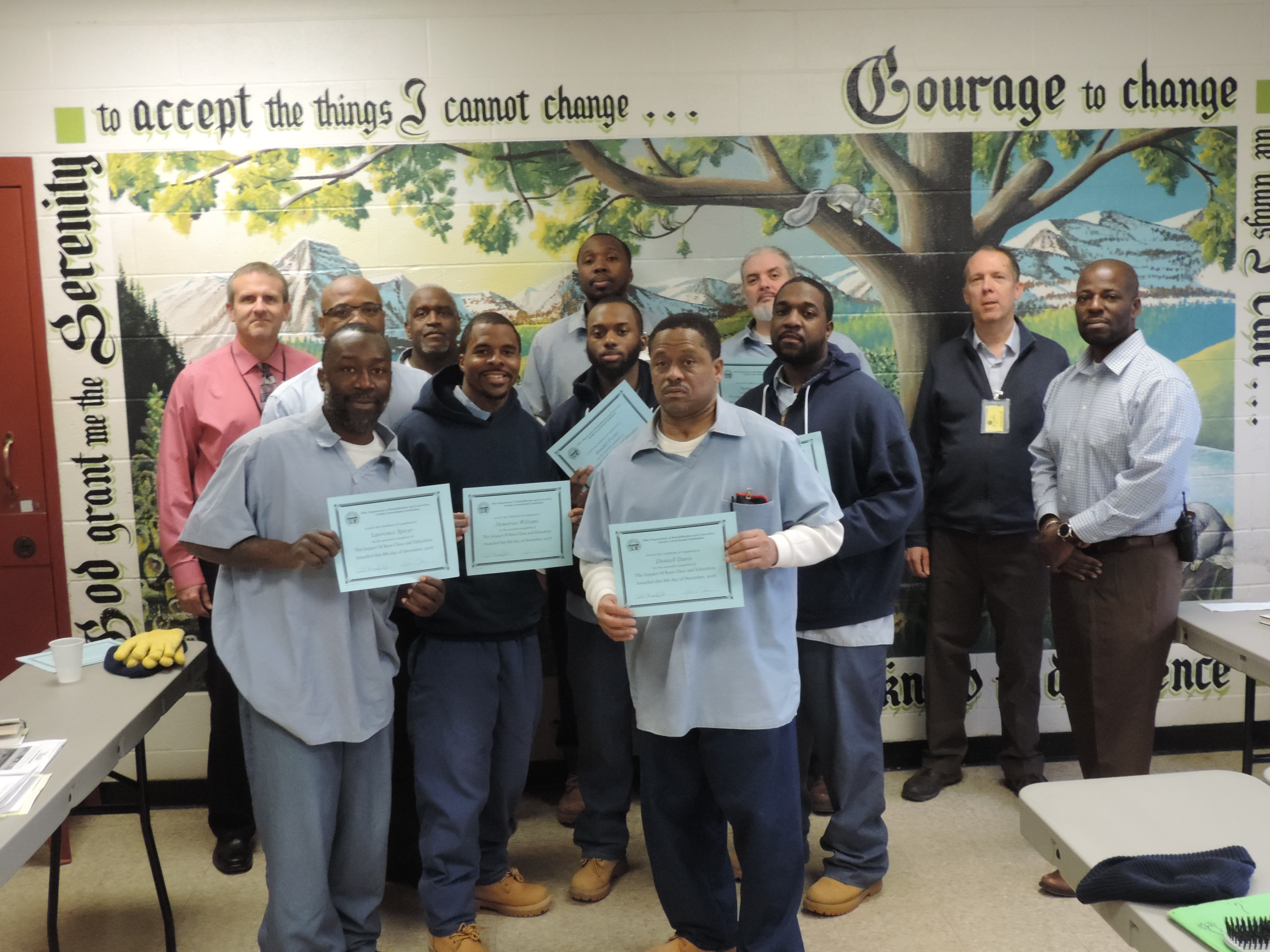 Students at LorCI Completes College Level Course