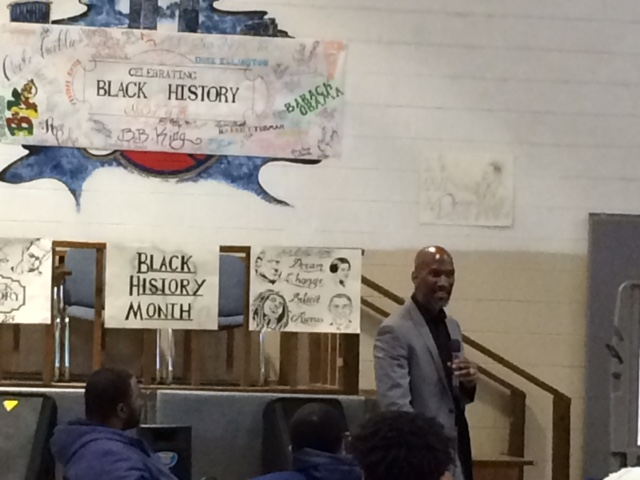 Ed Blunt, Motivational Speaker Visits Lorain