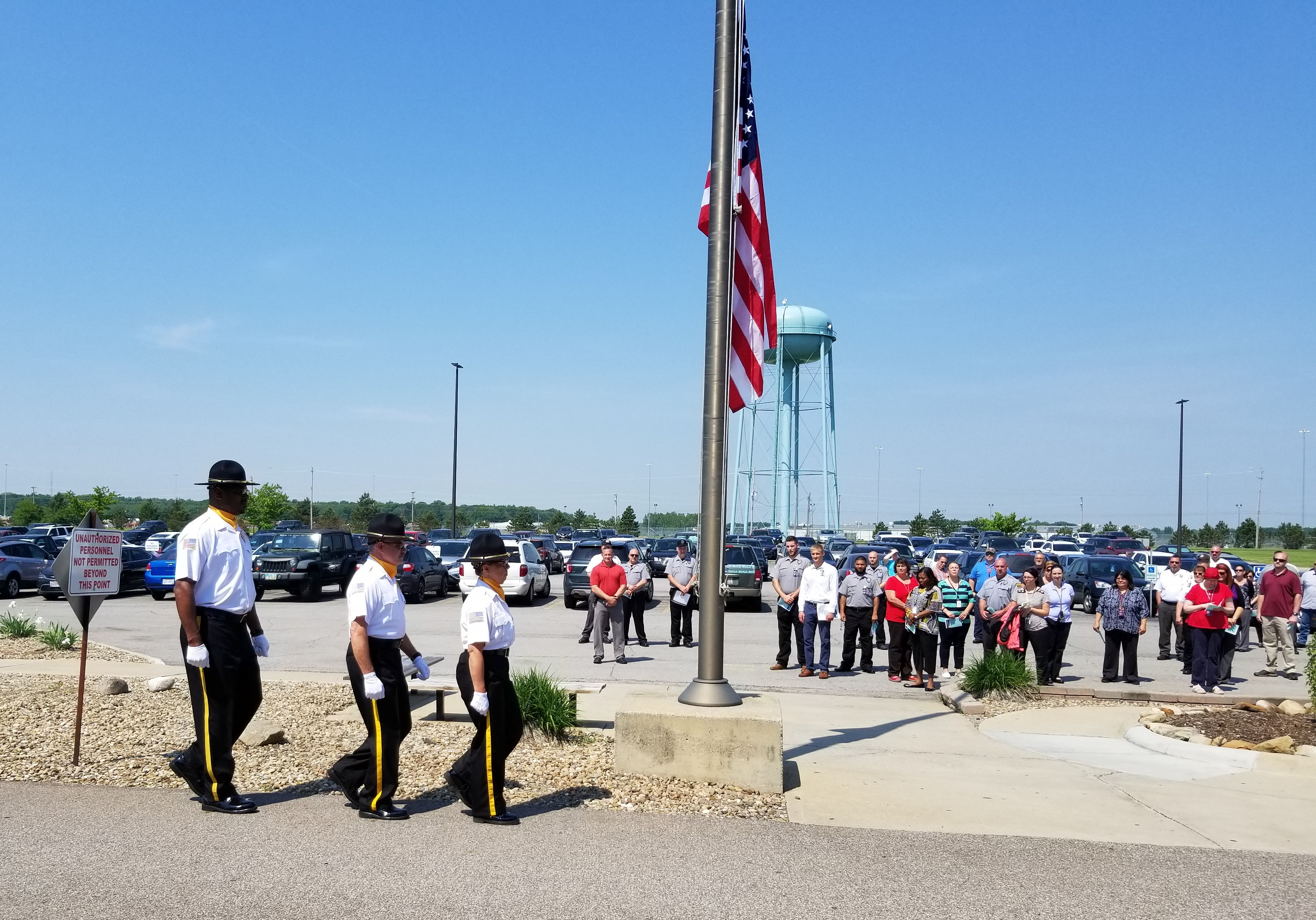 Ceremony Held at LorCI for Those Who Have Served Our Country