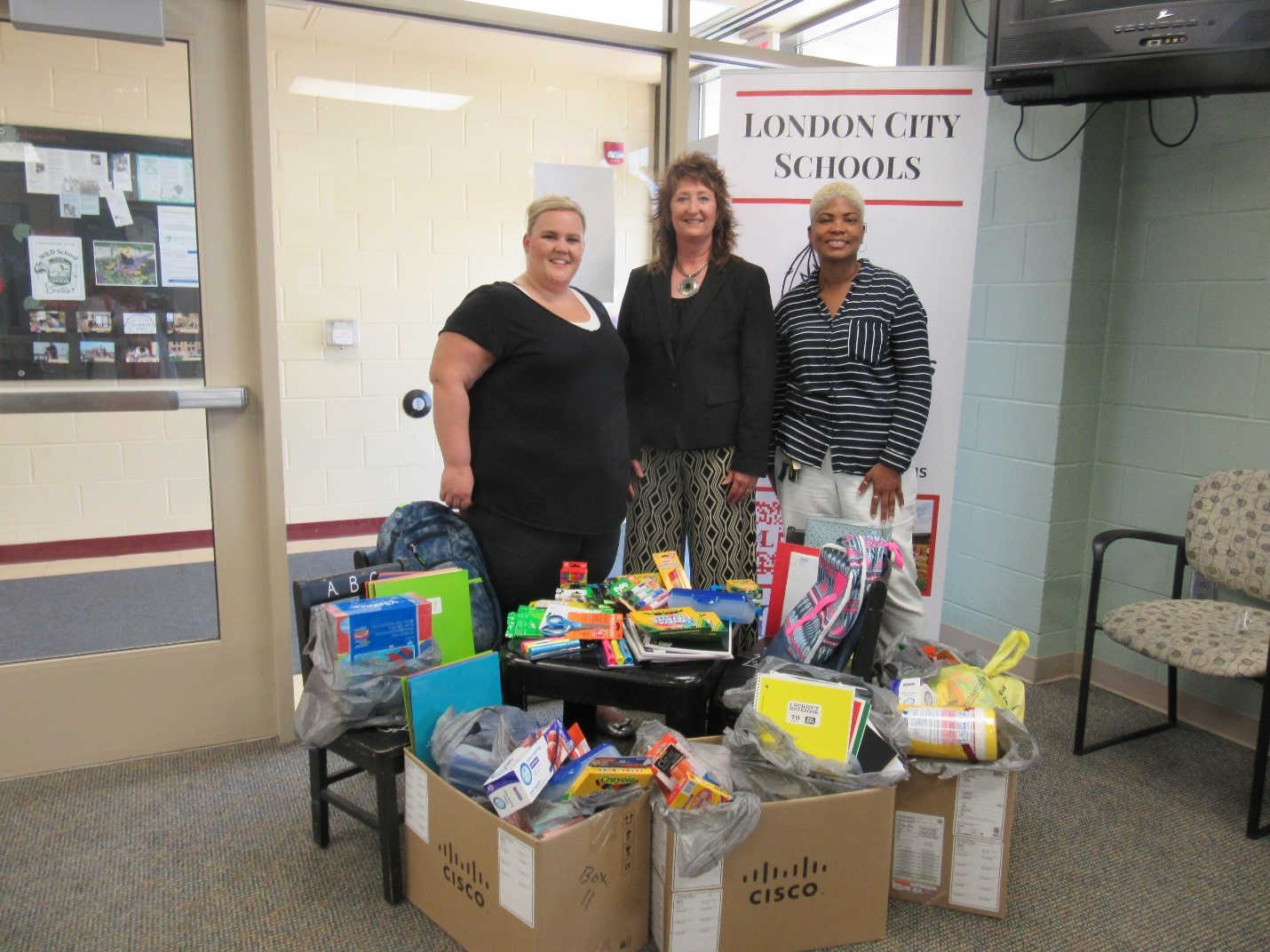 Madison Staff Donate to Local School