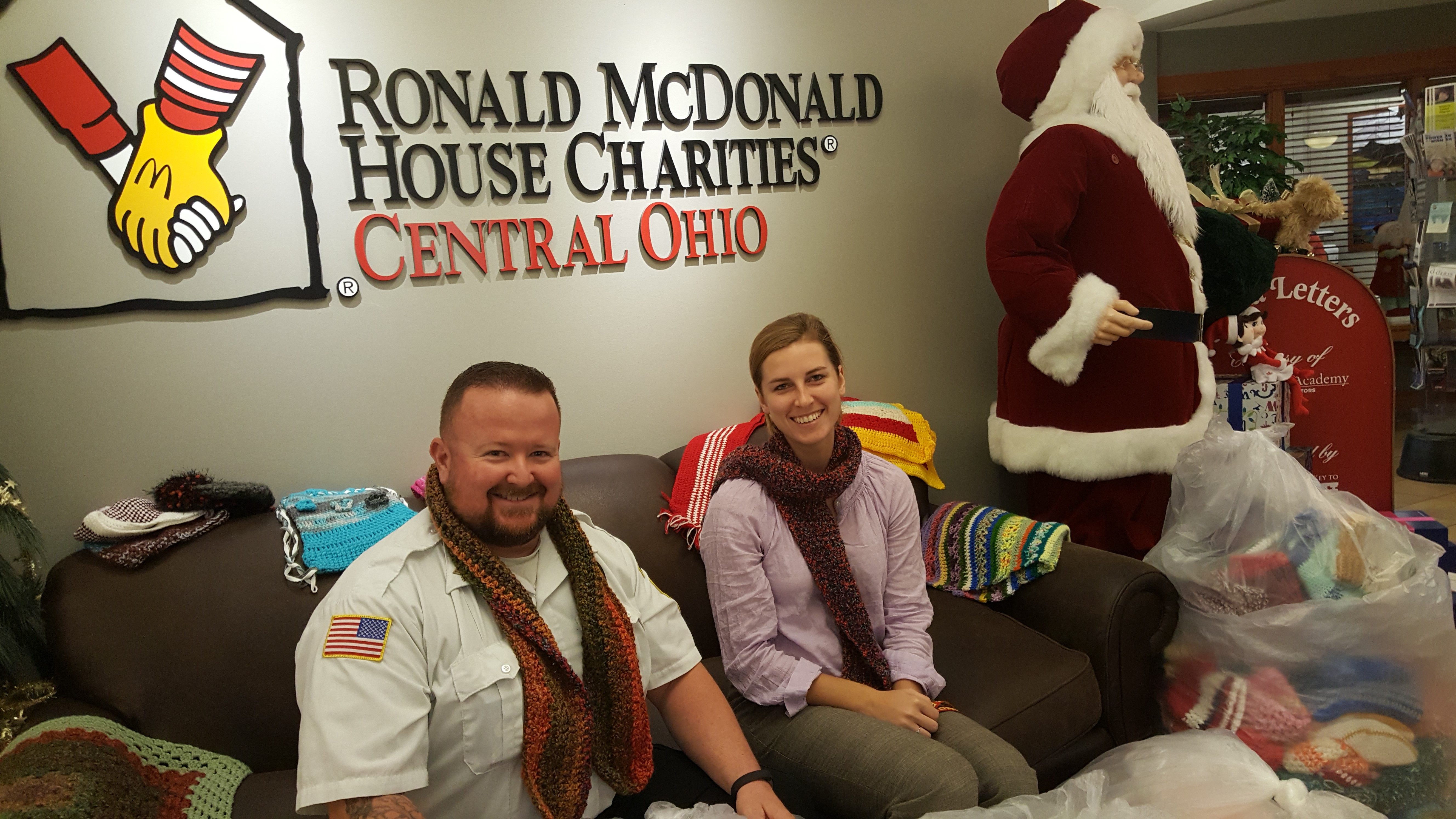 NCI Donates Winter Clothing Items to Ronald McDonald House