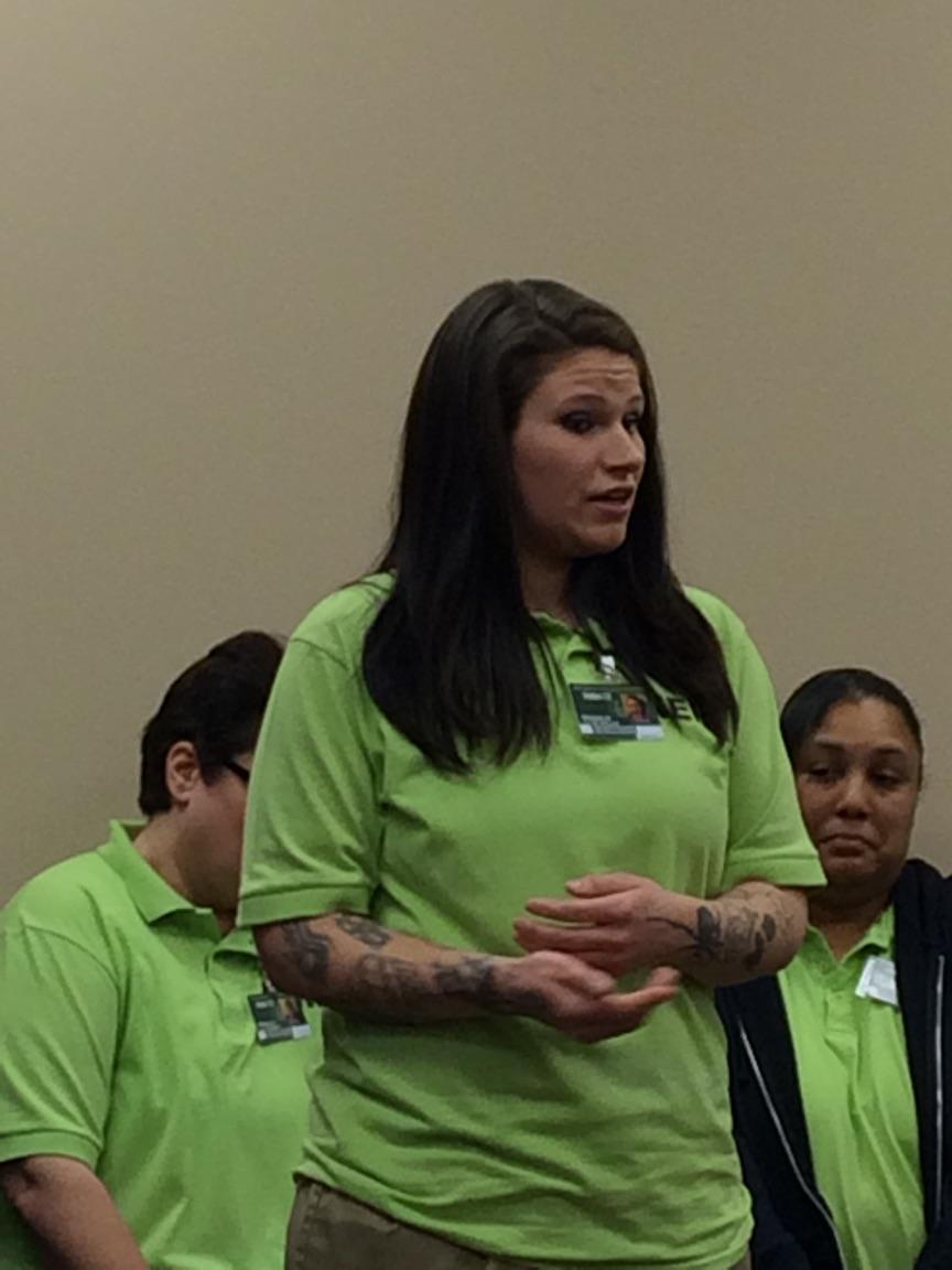 NERC Residents Speak to Cleveland Area High School Girls