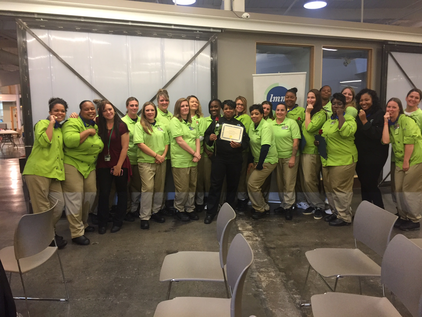 Graduation at Northeast Reintegration Center