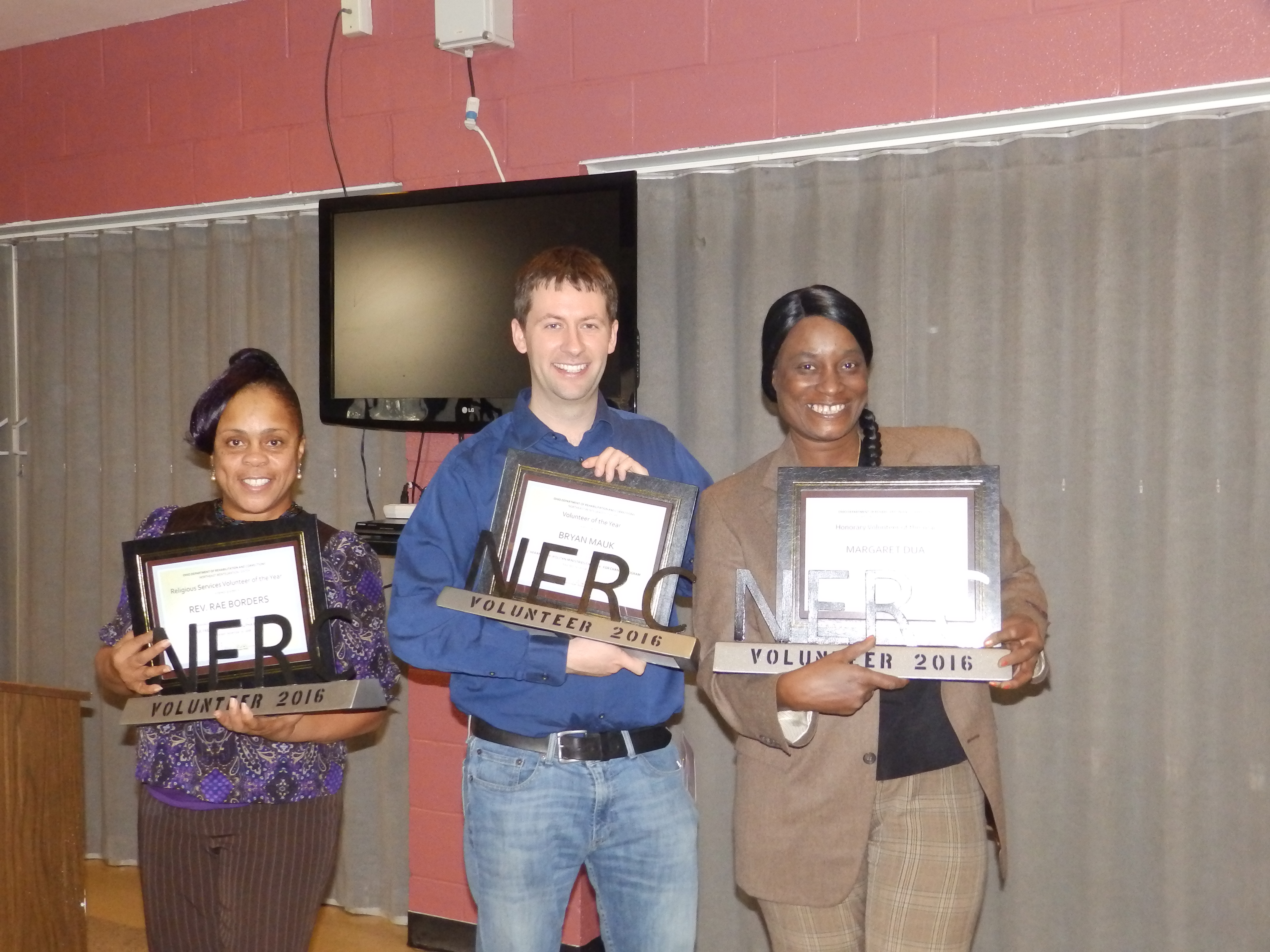 NERC Volunteers of the Year 2016