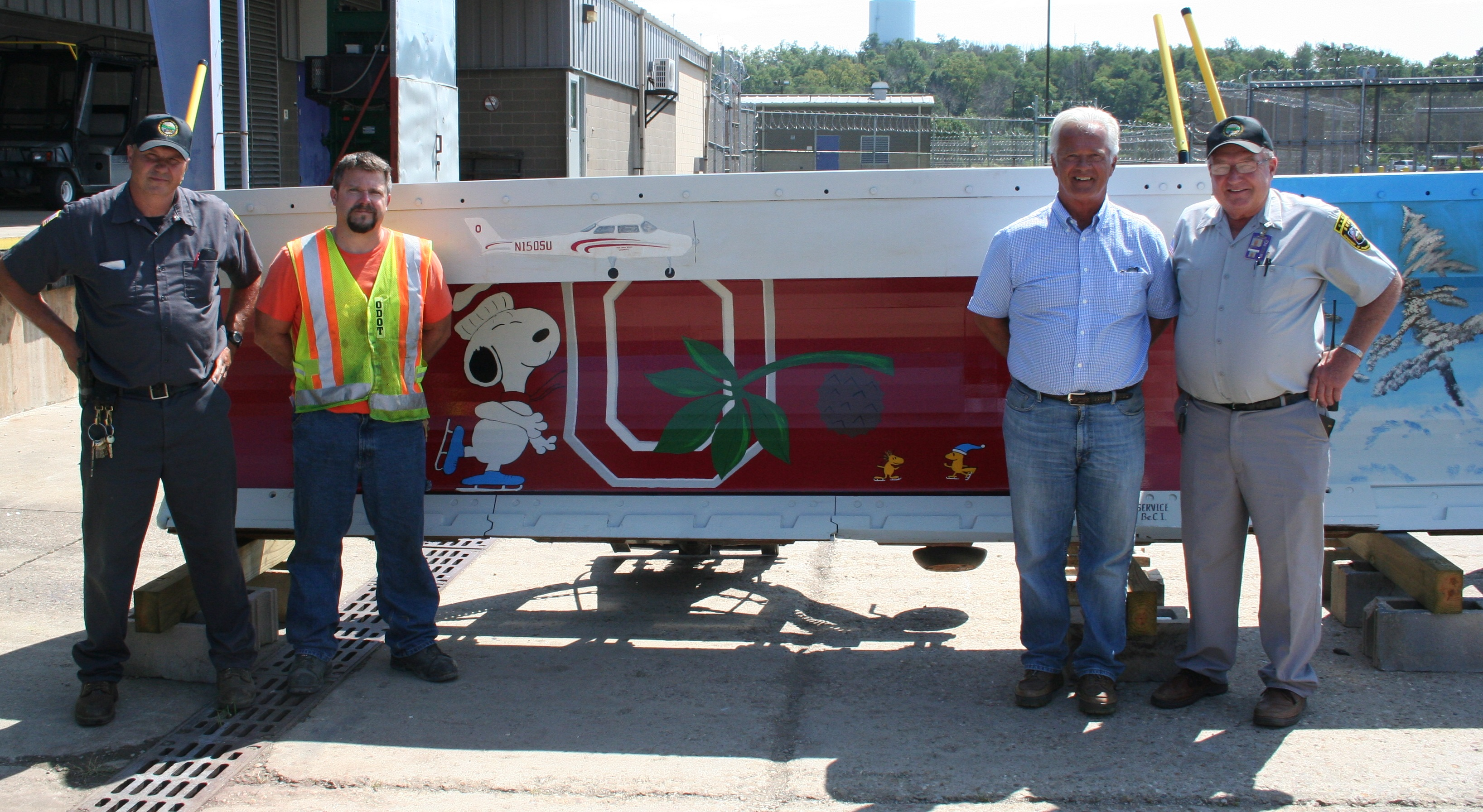 BeCI Offenders Prepare ODOT Snow Plows for District Competition
