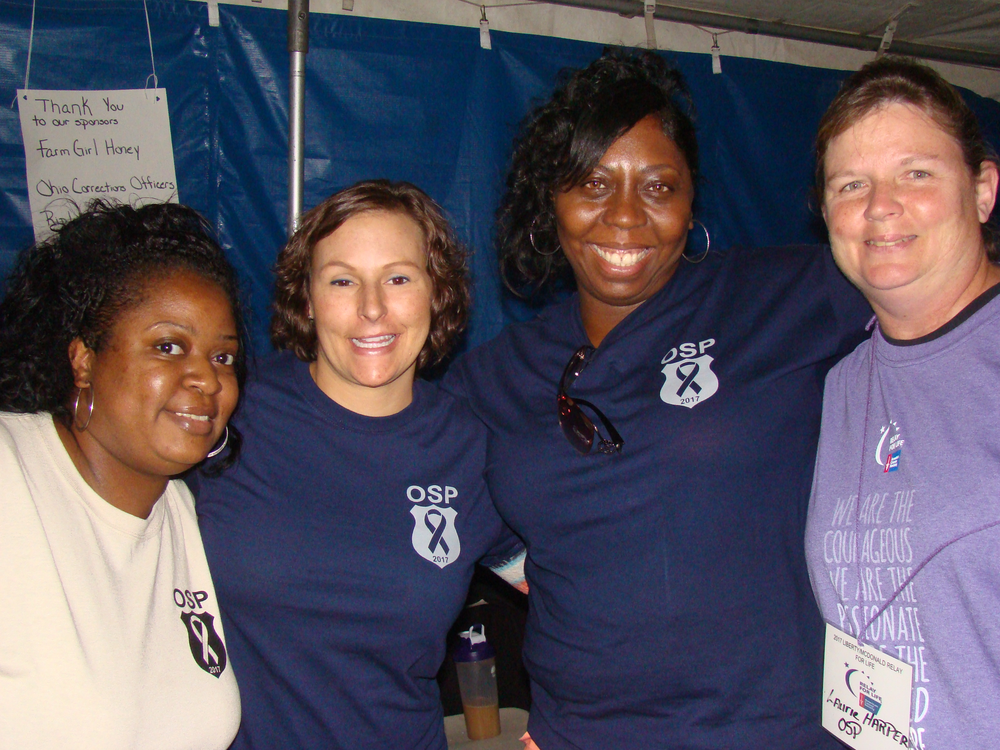 Team OSP Participates in Relay for Life Event