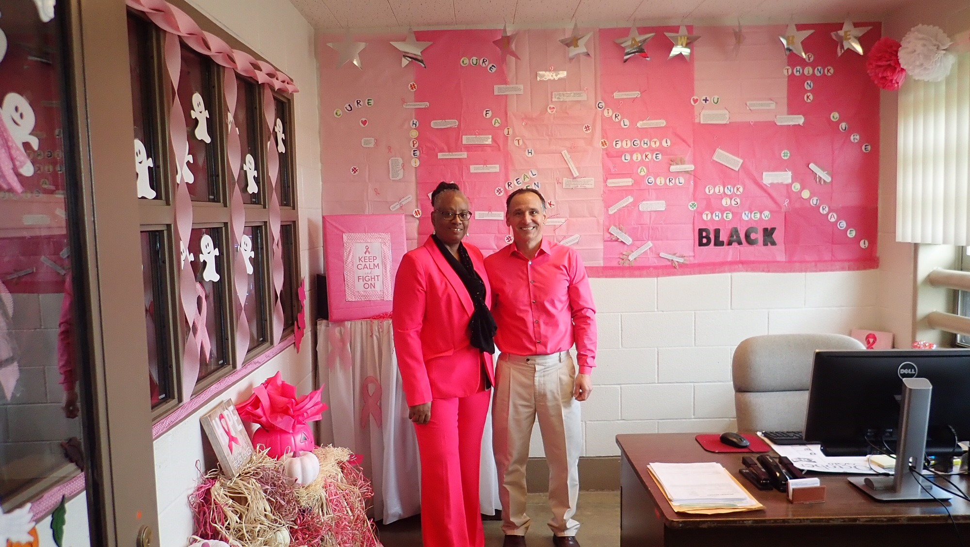 Noble Correctional Institution Pink Out Day