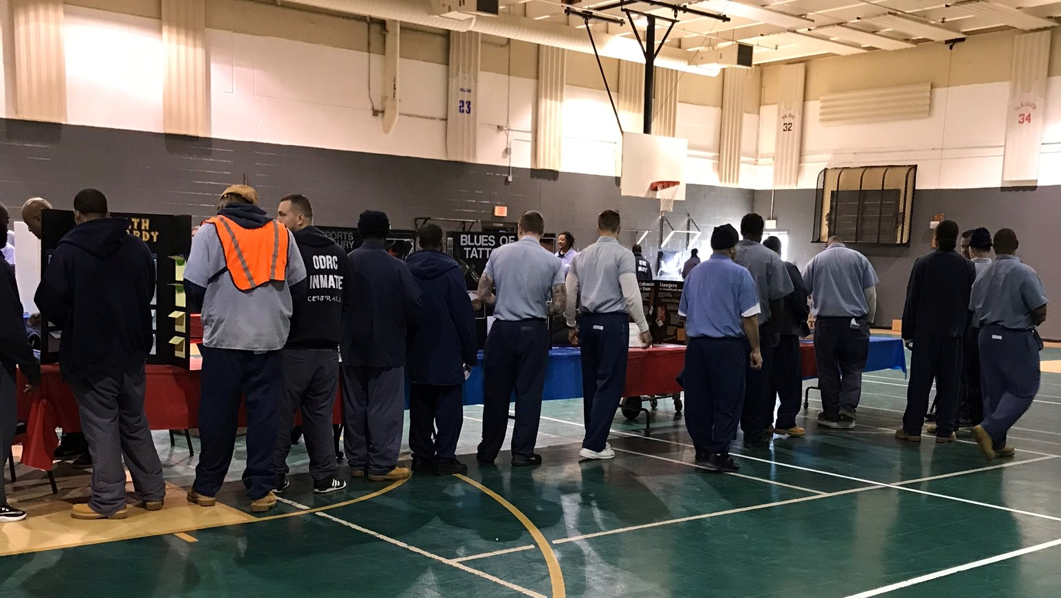 Ross Correctional Institution's Health Fair