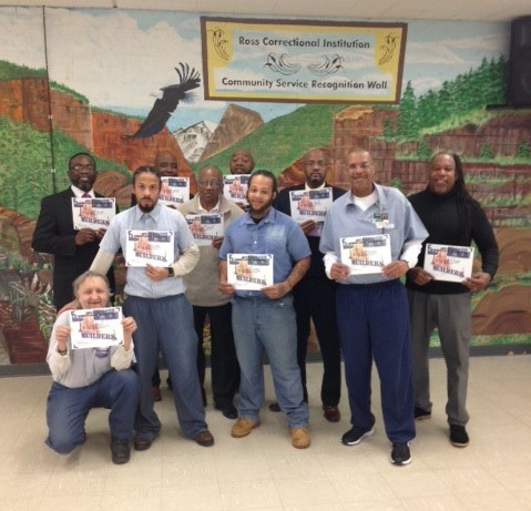 Life Builders Graduation at Ross Correctional Institution