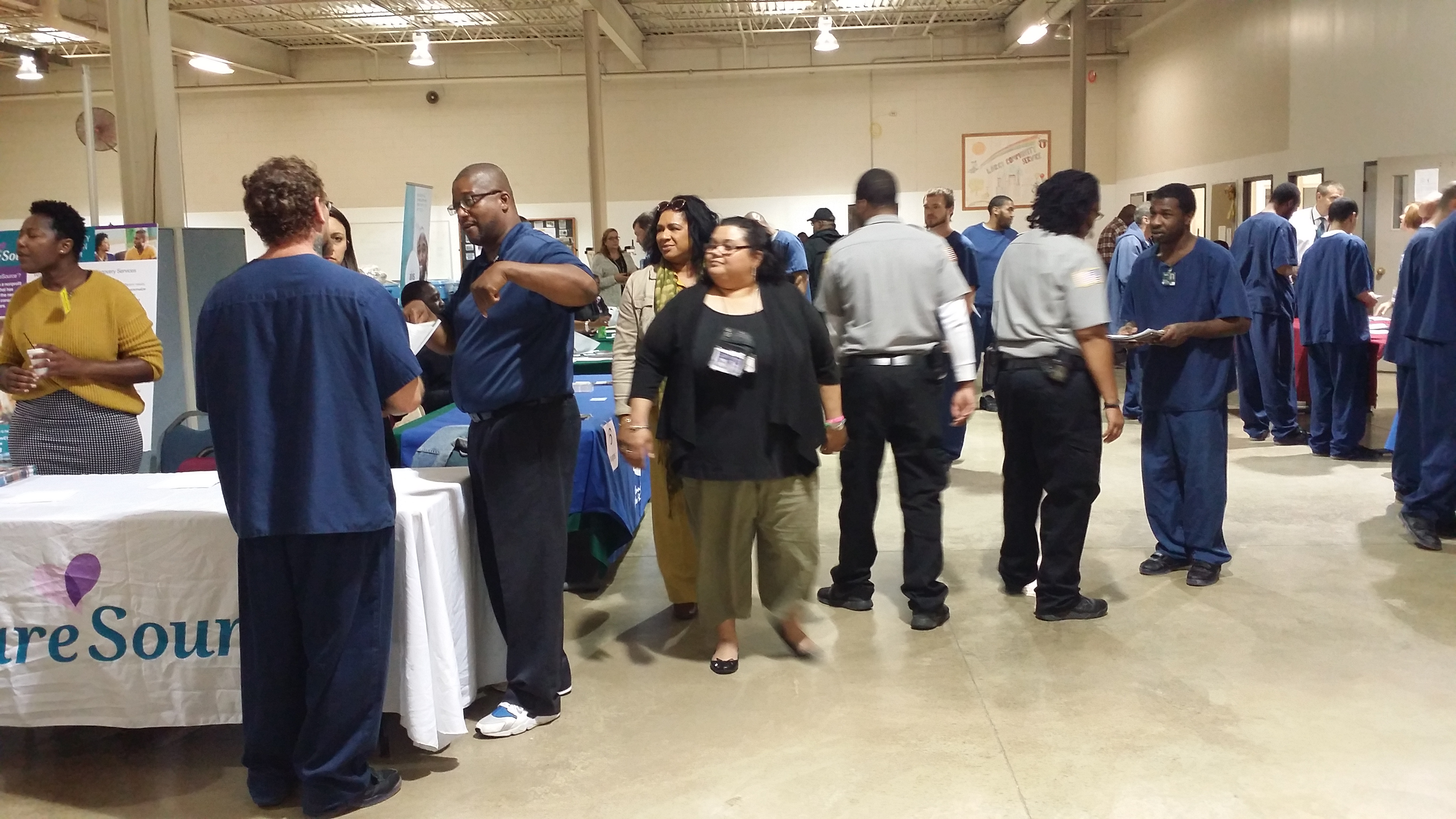 Reentry Resource Fair at LorCI