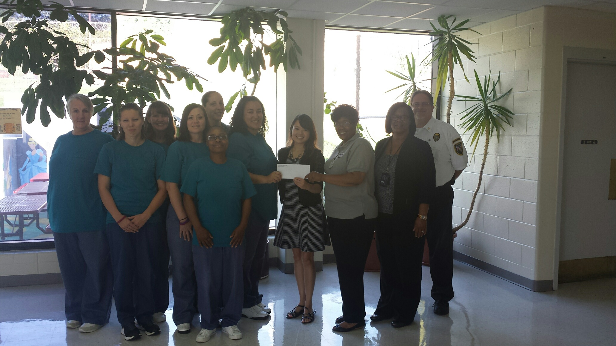 Dayton Correctional Institution (DCI) Donates to the Ronald McDonald House
