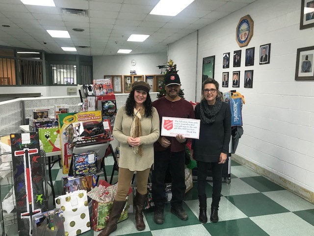 OSP Assists With The Salvation Army's Toy Store Drive