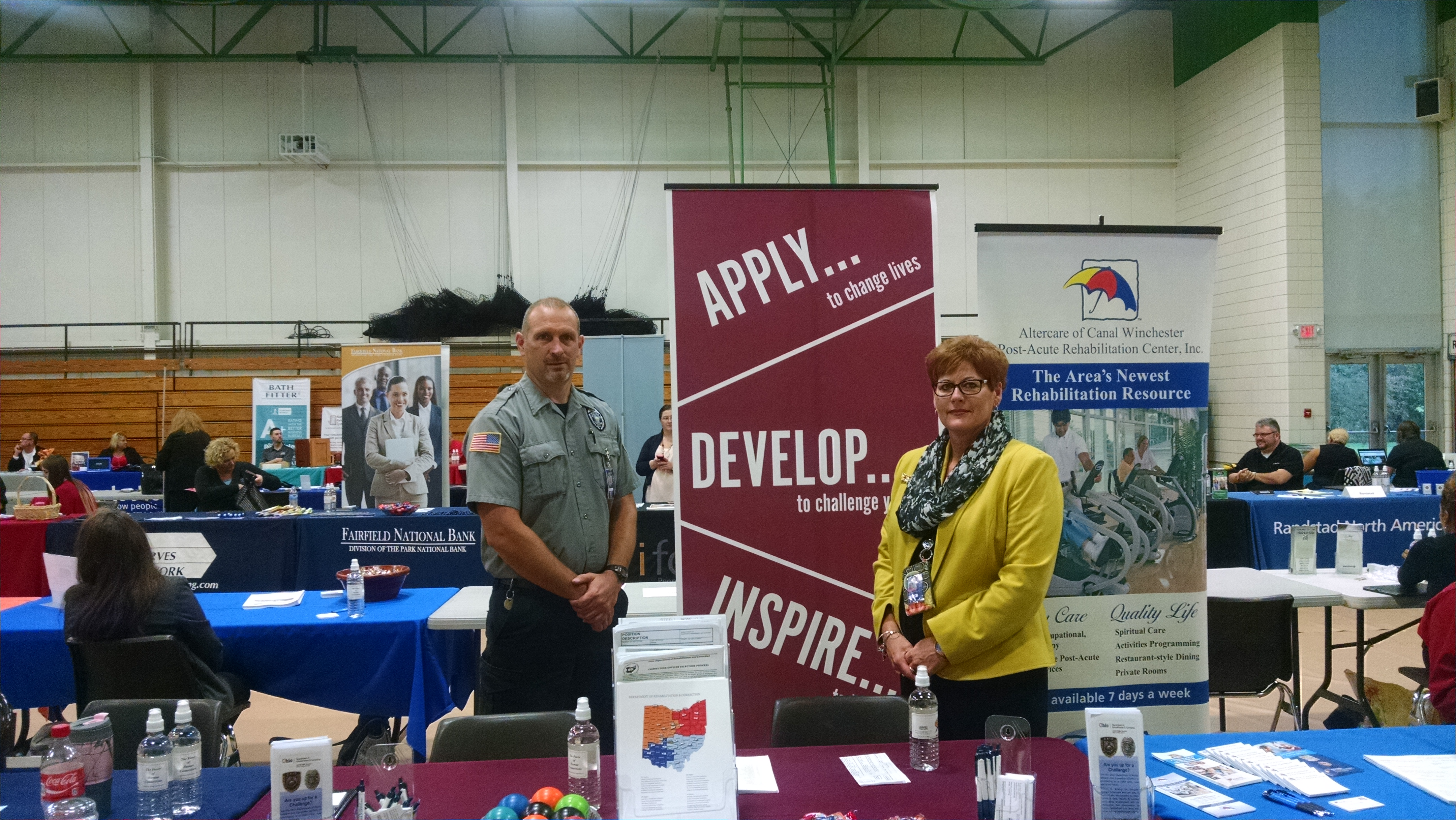 Career Fair at the Ohio University Lancaster Campus