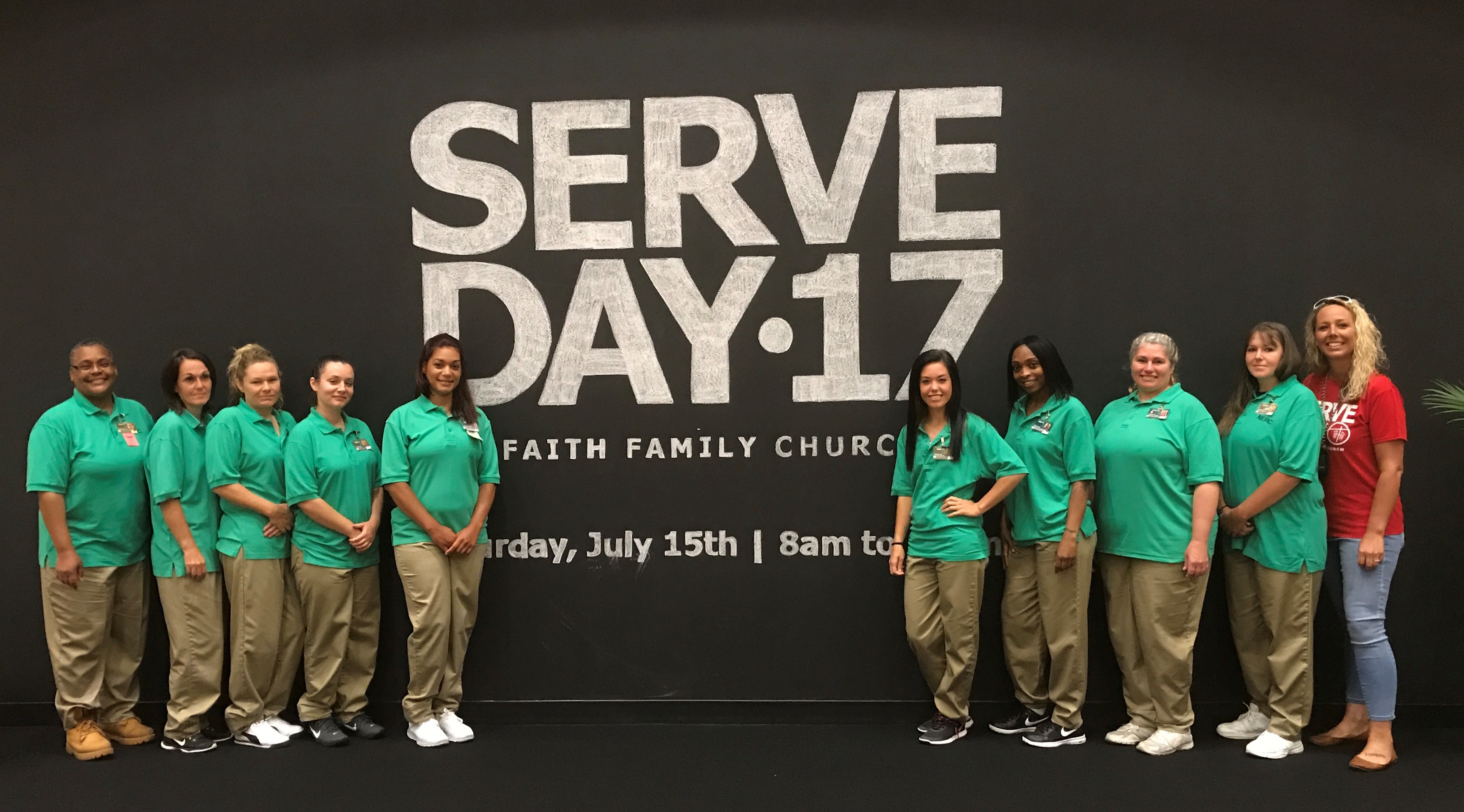 NERC Residents Participates in Serve Day 2017
