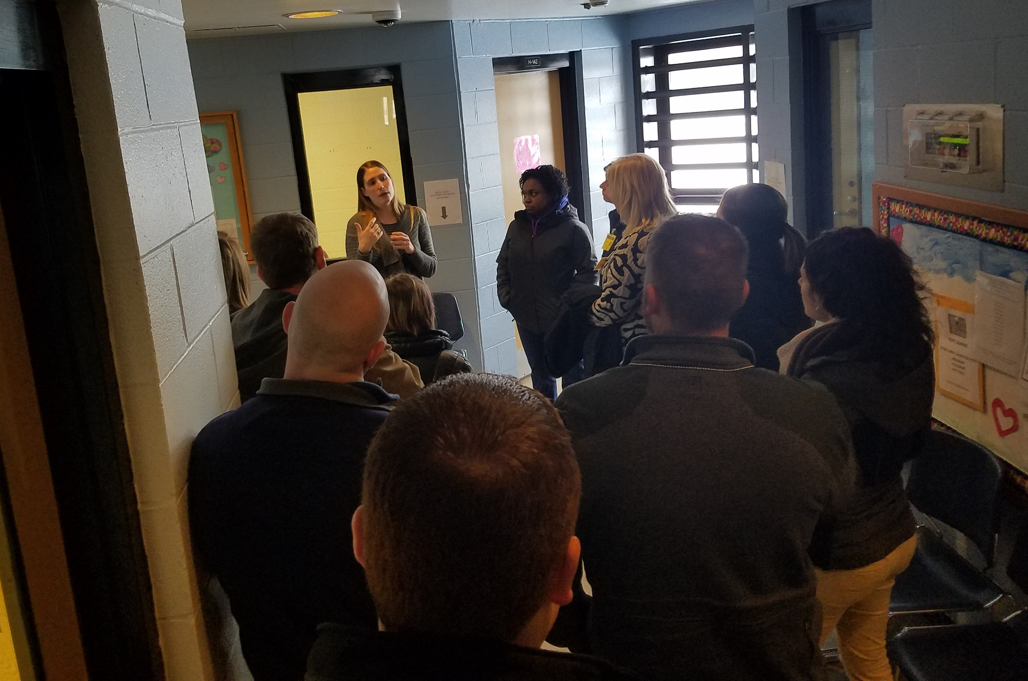 Summit County Prosecutor Staff Tour NERC