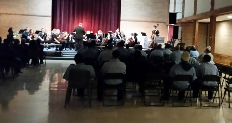 Toledo International Youth Orchestra Performance at Marion Correctional Institution