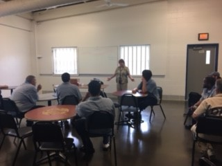 Noble Correctional Institution Holds Tutor Training