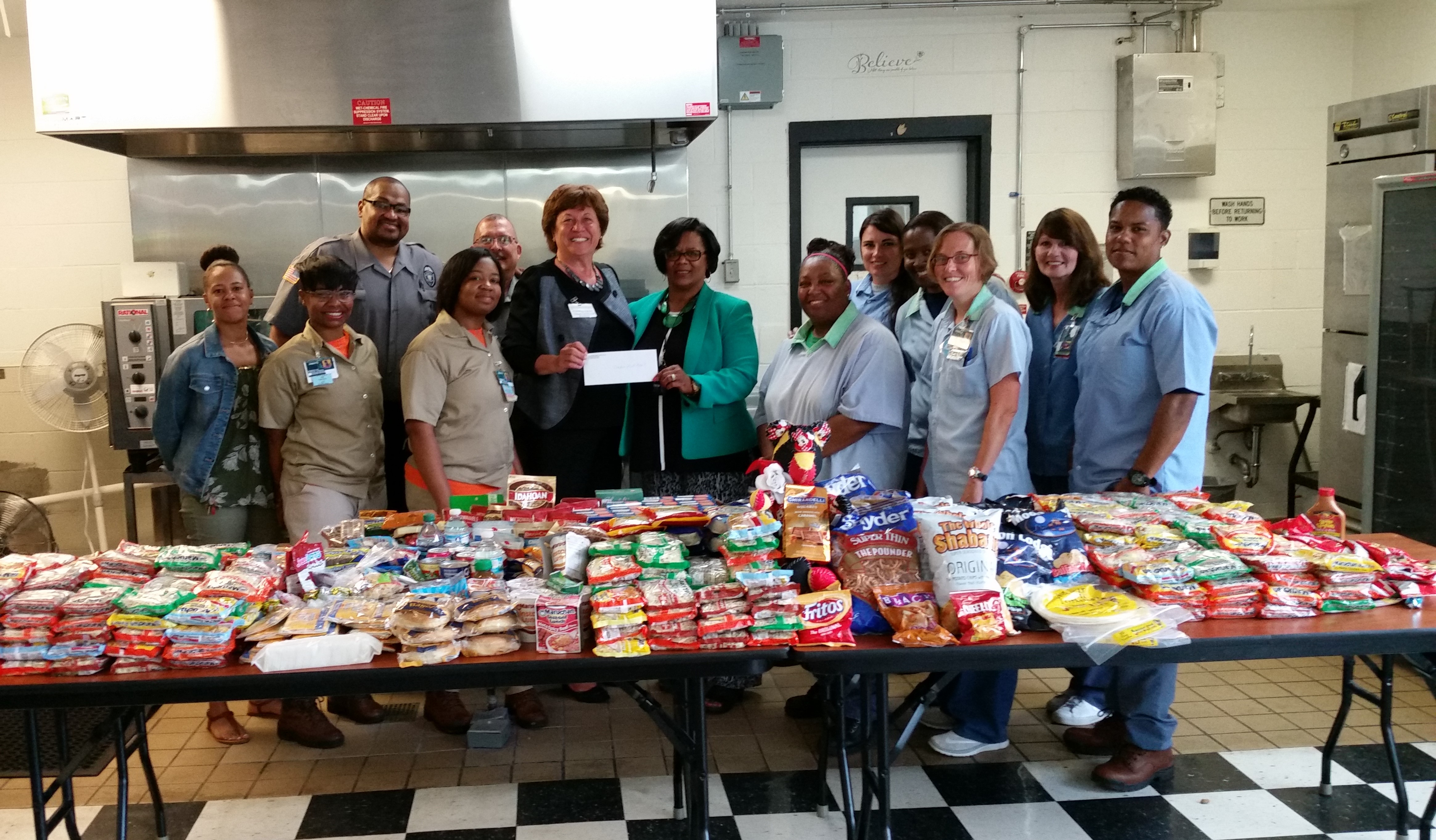 DCI Donates to Dayton Food Bank