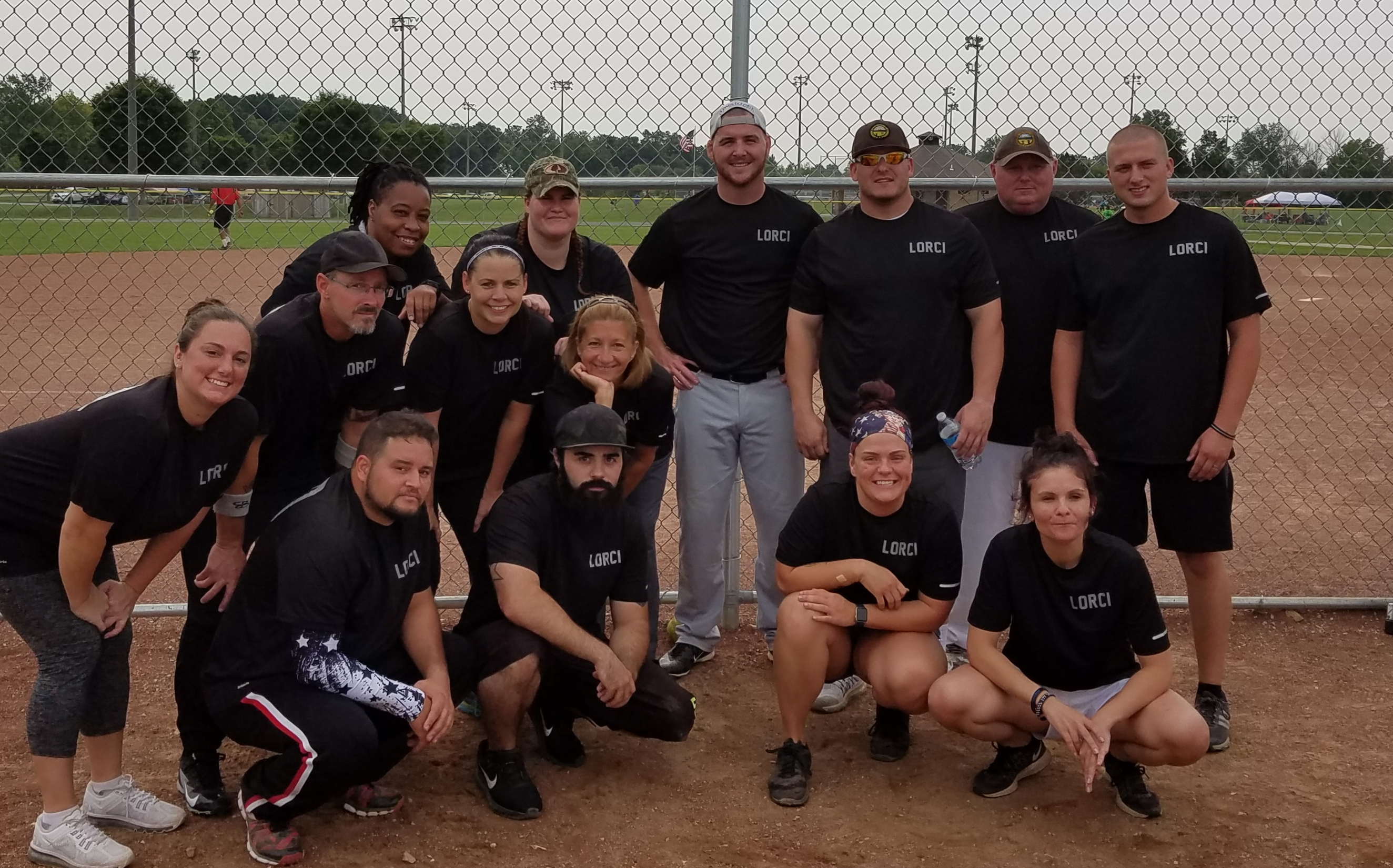 Lorain Correctional Participates in Annual Co-Ed Softball Tournament