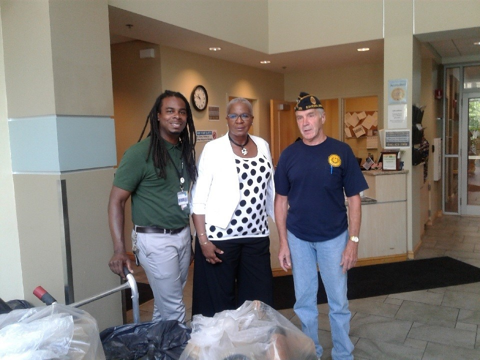 Cleveland Veterans Receive Boots from TCI