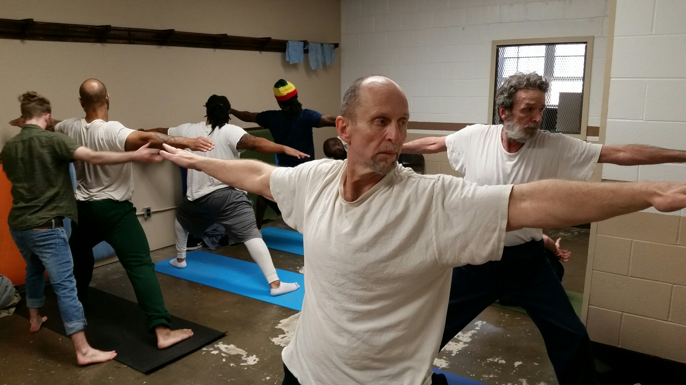 Yoga at Marion Correctional Institution